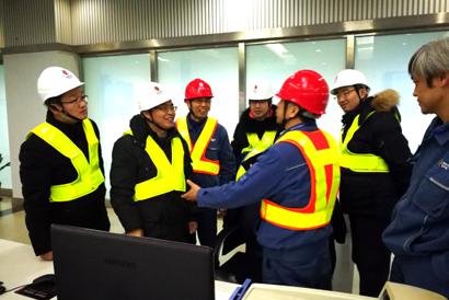 杨显峰调研沿海电厂进口煤炭情况